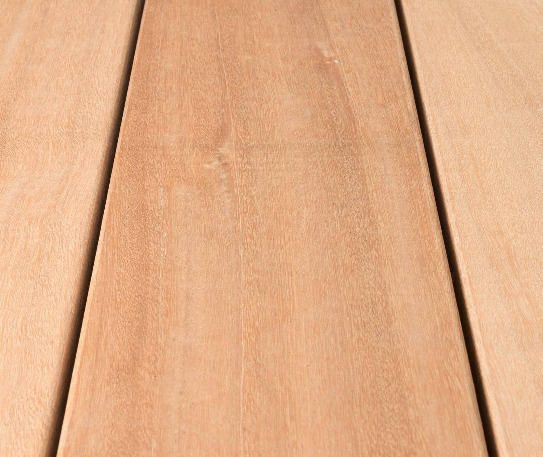 HORI Terrassendielen Bangkirai Standard beidseitig glatt 20 x 20 mm